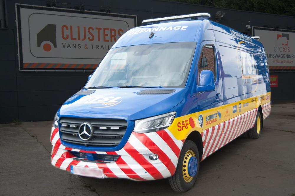Arcxis Servicefahrzeug